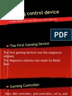gaming control