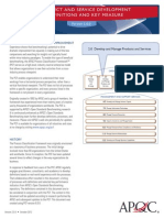 2.0 Develop and Manage Products and Services Definitions and Key Measures