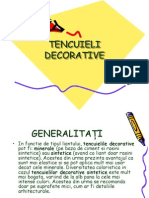 Tencuieli Decorative