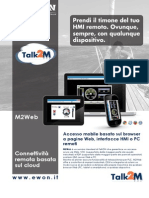 M2Web - Connettività remota basata sul cloud