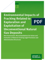 Texte 83 2013 Environmental Impacts of Fracking
