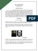 Filosofia - Matrix e Marilena Chaui