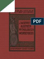 Algemeen Mythologisch Woordenboek (Gerretsen, 1906)