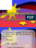 Article7 Executive department