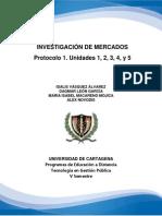 Protocolo 1. Investigación Mercados