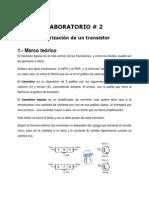 Polarización Transistor