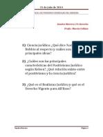 Primer Parcial de Principios Generales Del Derecho