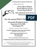 DSCC Fall Retreat for Democratic Senatorial Campaign Committee