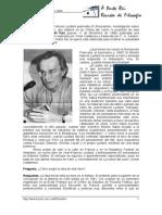Cabrese, O - Entrevista Con Lyotard (Luego de Publicado El Entusiasmo)
