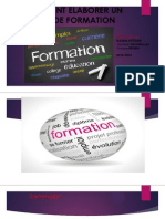 Comment Elaborer Un Plan de Formation