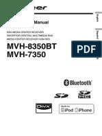 Pioneer Mvh-8350bt Puma