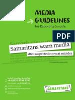 Samaritans Media Guidelines 2013 UK