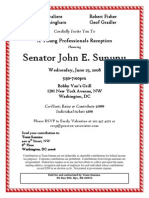 Young Professionals Reception for John E. Sununu