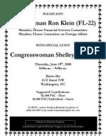 Fundraiser for Ron Klein