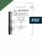 Antoine Fabre D'Olivet - La Musique Expliquée Comme Science Et Comme Art