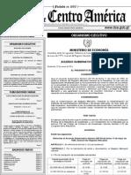 Acuerdo Gubernativo No.118-2014 (Arancel Registro Mercantil)