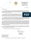 Second Letter to Governor Cuomo