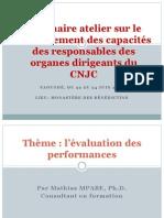 Séminaire atelier sur le renforcement des capacités CNJC2.ppt