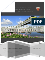 University Belt District - Monorail System