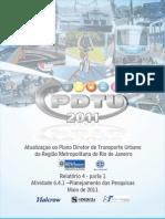 PDTU 2013 - Planejamento Das Pesquisas