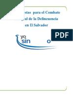 Propuestas Para El Combate de La Delincuenciacamarasal2010[1]