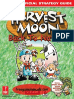 Harvest Moon Back to Nature Prima Guides
