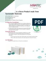 MiraTEC Trim Provides Green Building Benefits