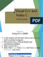 Use Visual c++ pellesc