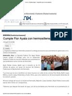 13-08-14  _Las 5mx_  Cumple Flor Ayala con los hermosillenses.