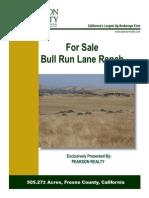 505.27 Acres Bull Run Lane Ranch For Sale