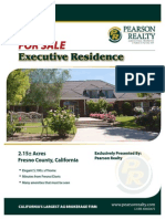 2.15 Acres Executive Residence for Sale