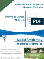 Informe de Gestión Medio Ambiente 2013-2014