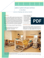 Dialysis Modalities in Patients With ARF