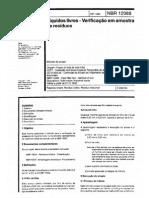 NBR 12988-1993 - Líquidos Livres - Verificação Em Amostra de Resíduos