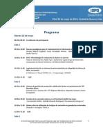 Congreso Integridad - Programa Técnico