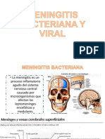 Meningitis Bacteriana y Viral
