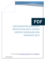 Implementing Endpoint Protection With ConfigMgr 2012