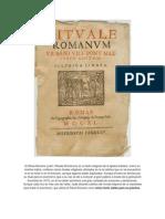 El Ritual Romano