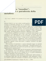 Ernesto Grassi - La Metafora Inaudita