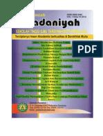 Jurnal Ilmiah Madaniyah STIT Pemalang edisi VI Tahun 2014