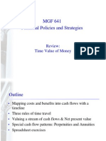 Time Value of Money Review