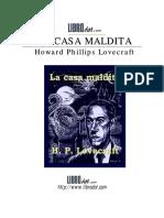 PDF.pdf Hp Lovecraft La Casa Maldita