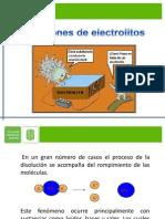 Electrolitos y PH QG
