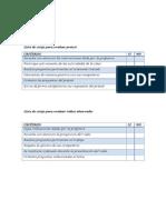 evaluaciones proyecto