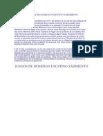 INFANCIA DE DOMINGO FAUSTINO SARMIENTO.docx