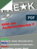 FREAK-Magazin - Ausgabe 2