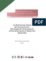 La Distribución Social Del Conocimiento