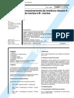 NBR 11174 NB 1264 - Armazenamento de Residuos Classes II