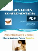 2. Alimentacion Complementaria
