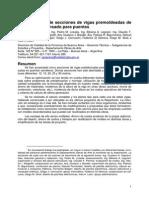 5486 Normalizacion de Secciones de Vigas Premoldeadas de Hormigon Pretensado Para Puentes - Gustavo Soprano y Otros